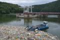 Müllsammelboot