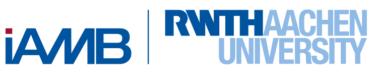 Logo des iAMB Instituts des everwave Partners RWTH Aachen