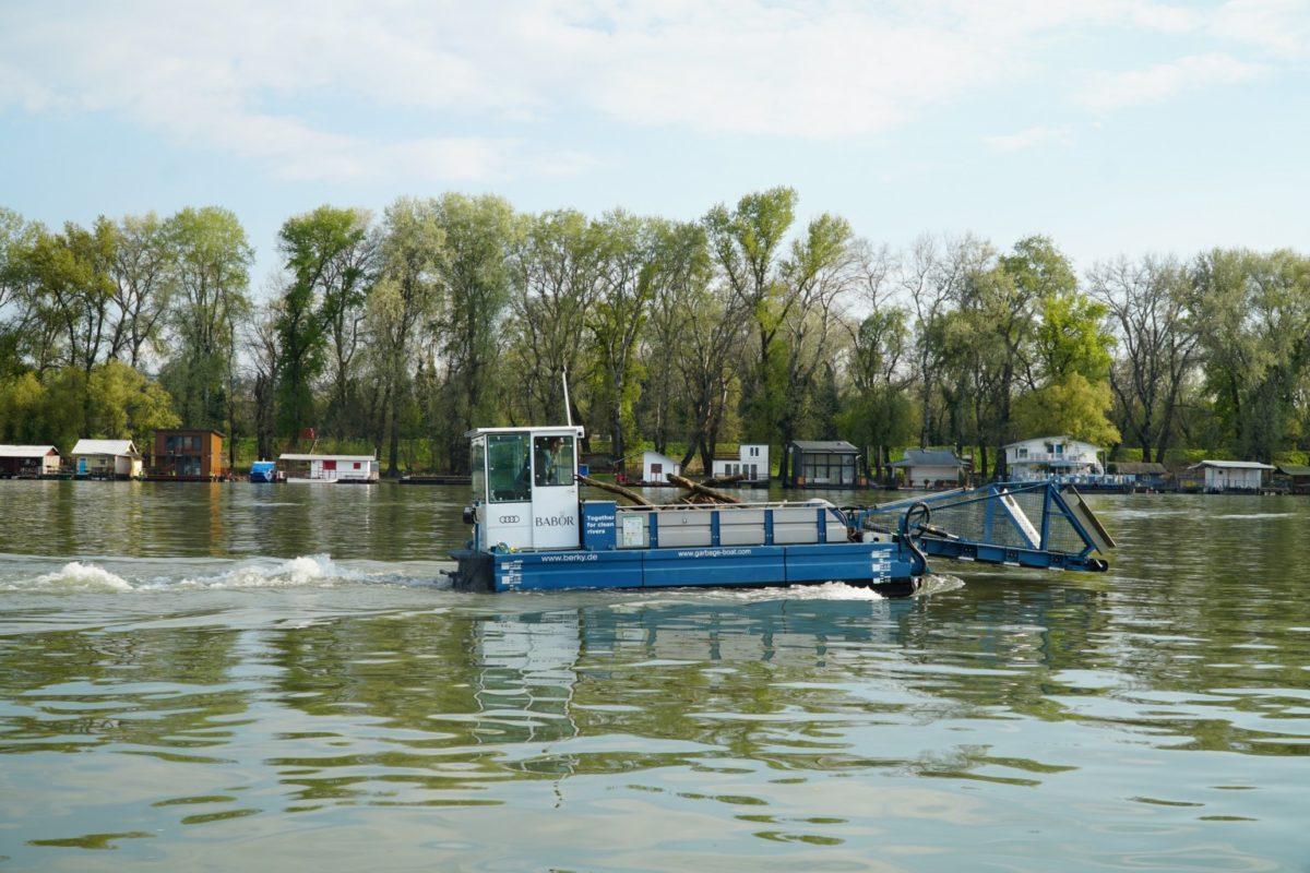 CollectiX Einsatz auf der Donau